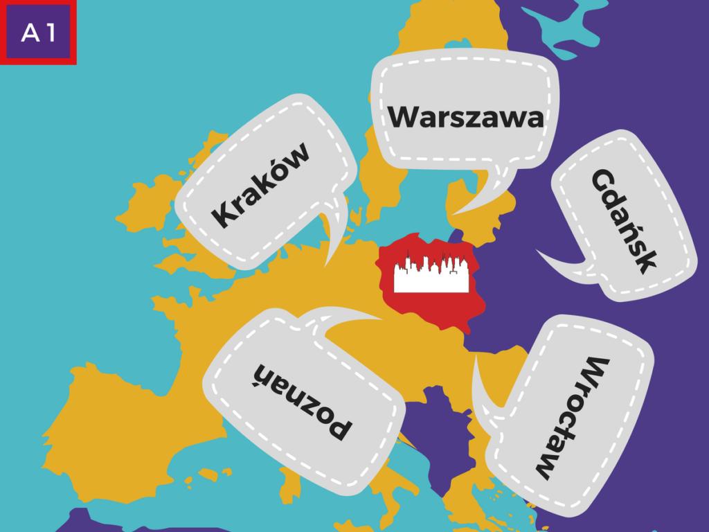 prononciation de villes polonaises